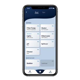 Hayward OmniLogic – le plus simple et le plus intuitif des systèmes d'automatisation pour votre arrière-cour.