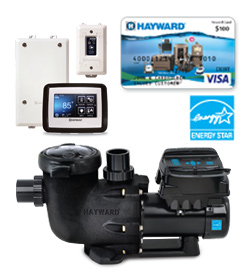 $100 Hayward VS Omni pump Mail-In Rebate