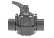 Les clapets de retenue et les inverseurs à 2 et 3 voies de la série PSV de Hayward rendent la gestion du débit d'eau simple et sans entretien grâce à des corps CPVC et PVC durables, de multiples configurations d'orifices et de tailles et une personnalisation facile de la poignée pour la plupart des applications.