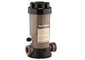 Les chlorateurs et distributeurs de brome automatiques de Hayward sont idéaux pour les applications creusées et hors terre lors de la construction de nouvelles piscines ou de piscines déjà en usage.