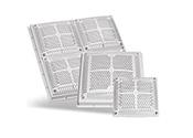 Les couvercles de drain carrés de Hayward sont disponibles dans une large gamme de tailles et de débits pour répondre à toutes les exigences d'installation. Les sorties d'aspiration de Hayward sont la référence en matière de qualité et de valeur.