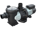 "Commercial pump with 3"" unions, 2.0 HP, Single Phase"